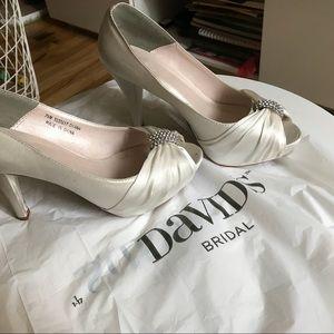 David Bridal Wedding Boots